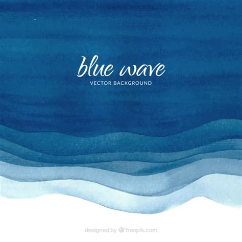 download vector navy blue wave background design vectorpicker watercolor background with blue waves vector free download