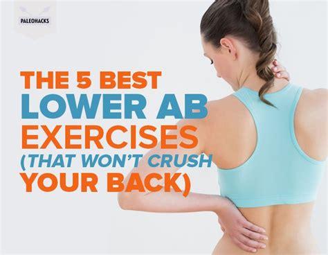 ab exercises  wont crush