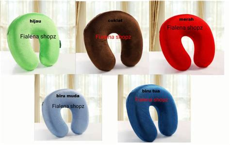 Bantal Memory Foam Airland jual memory foam neck pillow bantal leher travel fialena shop