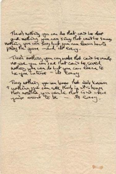 the beatles best song top 10 most expensive beatles handwritten lyrics