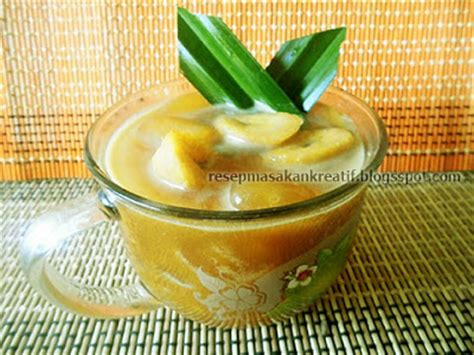 Kolang Kaling Manis resep kolak pisang santan kolang kaling praktis aneka