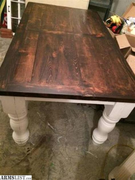 Barn Wood Tables For Sale by Armslist For Sale Trade Reclaimed Barn Wood Table