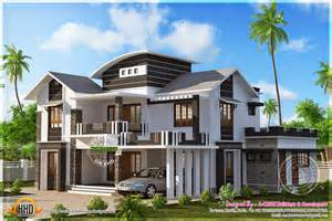 Mansion Designs by 2601 Square Modern Mix House Kerala Home Design And