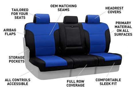 neosupreme seat covers vs neoprene coverking custom fit front 50 50 seat