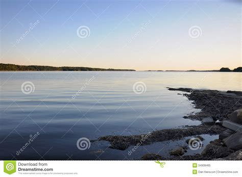 maine boat launches boat launch in casco bay royalty free stock photo image