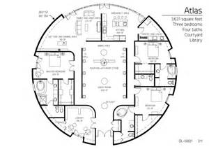 Monolithic Dome Home Floor Plans Image