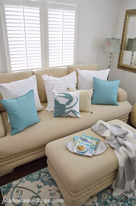 aqua home decor house of turquoise fox hollow cottage