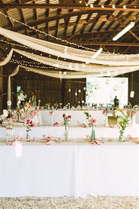 diy wedding reception lighting pink and gold diy wedding by brett jessica photography