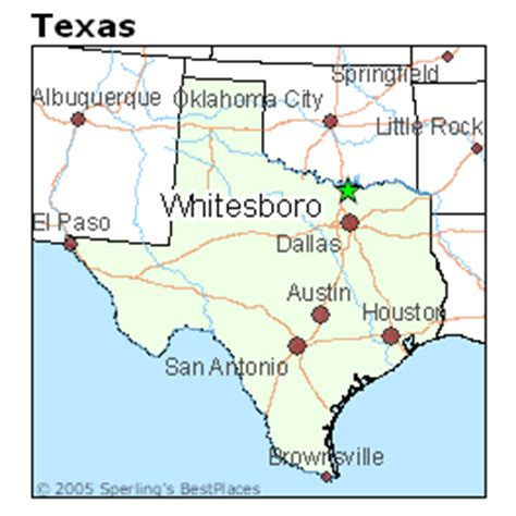 whitesboro texas map best places to live in whitesboro texas