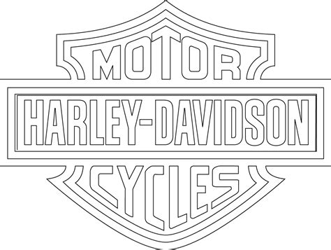 harley davidson coloring pages harley davidson signs coloring page pictures to pin on