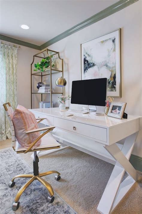 Feminine Desks by 30 Delightful Feminine Home Office Furniture Ideas Digsdigs