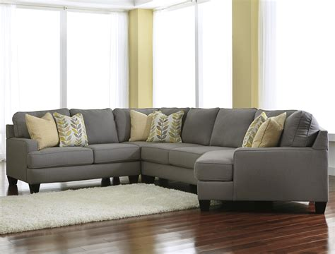 4 piece sectional sofa signature design by ashley chamberly alloy modern 4