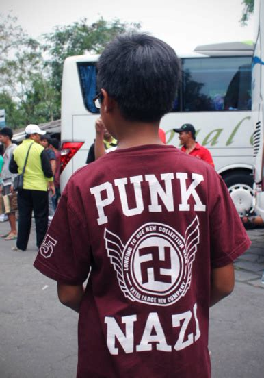 Tshirt Indonesia United posters of and swastika t shirts are all the rage