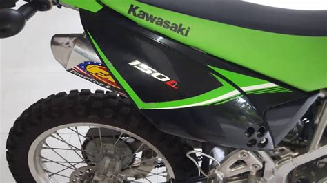 Knalpot Fmf Powercore 4 For Klx 150s 150l 150bf D Tracker 150 klx 150l kawasaki exhaust fmf powercore 4