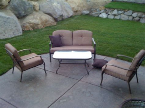 aluminum patio furniture lowes modern patio outdoor