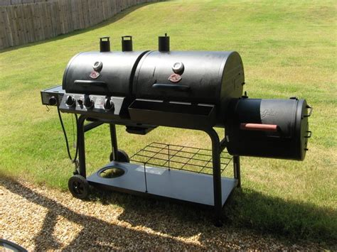 Barbecue Portable 1728 by Char Griller Smoker Box Images