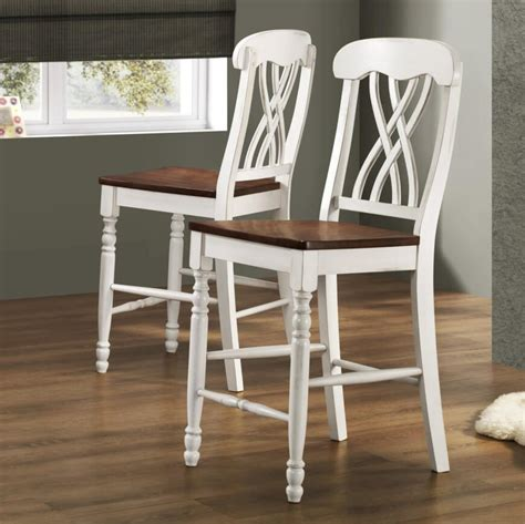 White Cottage Style Bar Stools by 52 Types Of Counter Bar Stools Buying Guide