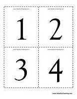 printable number recognition flash cards lots of free math flash cards numbers shapes to