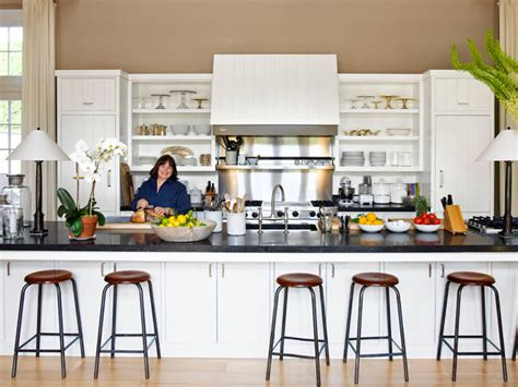 Barefoot Contessa Kitchen by The Polished Pebble Ina S Garden In The Hamptons