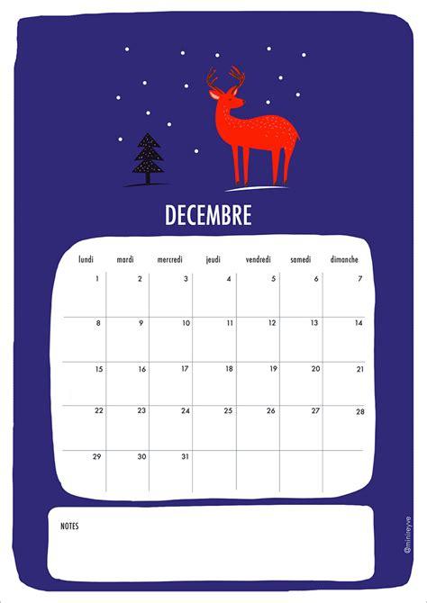 Calendrier Decembre 2014 Printable Calendrier D 233 Cembre 2014 2