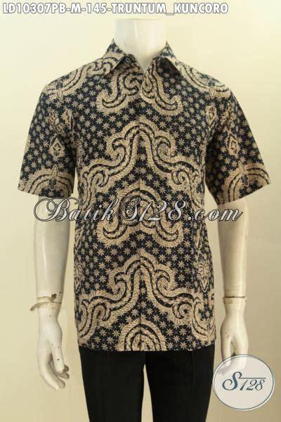Baju Batik Pria Motif Kalijagalengan Pendek model baju batik pria lengan pendek motif truntum kuncoro
