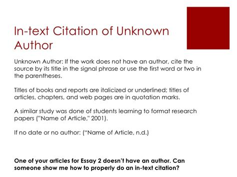 apa format journal article multiple authors apa citation in text website no author google search