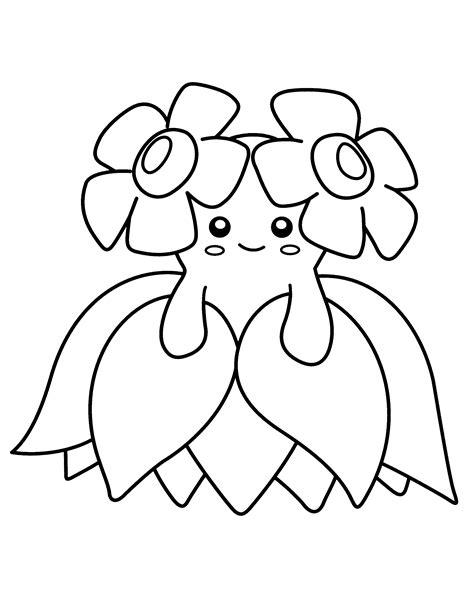 pokemon coloring pages meganium pokemon dibujos para colorear