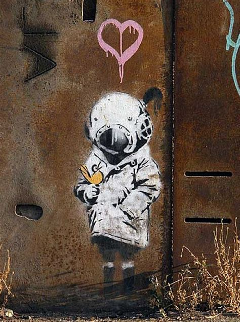 banksy  genius  pieces  amazing street art