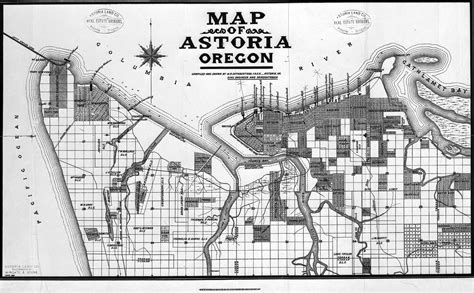 map astoria oregon gallery of oregon maps