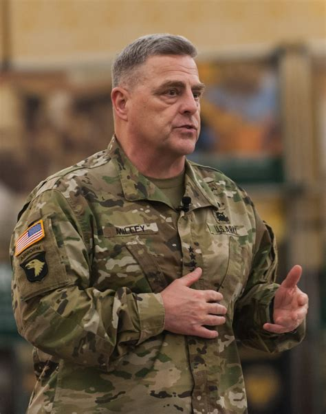 gen mark milley csa milley readiness is my no 1 priority article