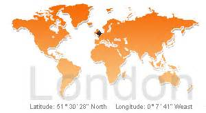 World Map London by Reliable Index Image Where Is London