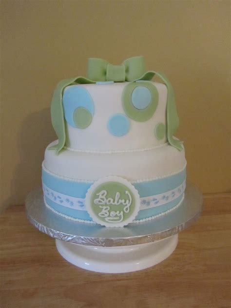 Blue And Green Baby Shower by Blue And Green Baby Shower Cakecentral