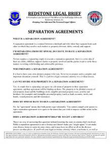 separation agreement ontario template best photos of separation papers template