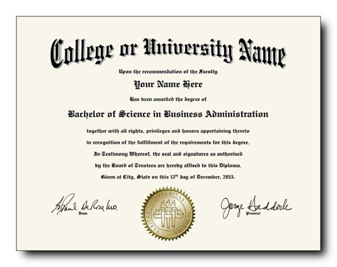 college degree template 100 the best collection of diploma templates for every