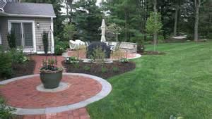 Round Patio Types Of Brick Patio Designs To Make Your Garden More