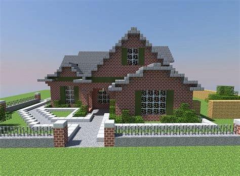 Minecraft Brick House by Small Modern Brick House Minecraft Project