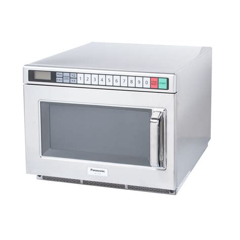 Microwave Panasonic Low Watt panasonic ne 17521 pro i commercial microwave oven 1700 watts