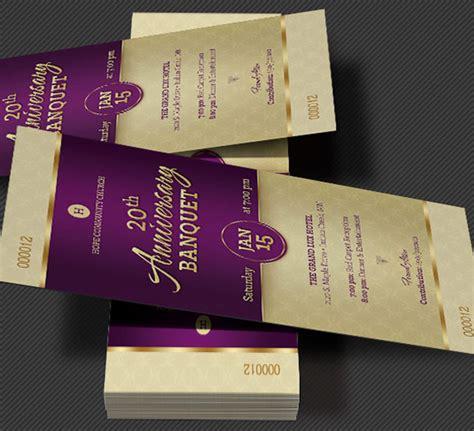 Wedding Anniversary Banquet Ideas by Church Anniversary Banquet Ticket Template Godserv