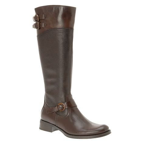 aldo brown boots aldo prettner in brown lyst