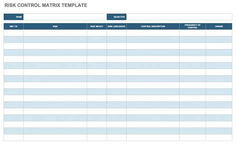 risk assessment template free risk assessment matrix templates smartsheet
