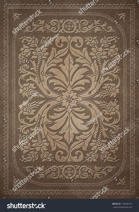 Decorative Book Covers decorative book cover stock photo 170456747