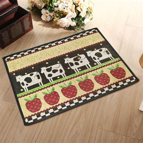 Non Skid Kitchen Rugs Breathtaking Washable Kitchen Rugs Non Skid Non Skid Rugs For Kitchen Black Rug With Cow And