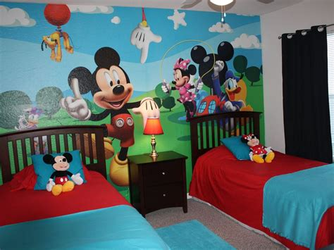 disney wallpaper for bedrooms disney dream home mickey theme bedroom vrbo