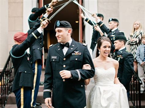 army wedding traditions save