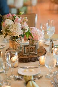 rustic table centerpieces midwest arboretum wedding rustic wedding chic