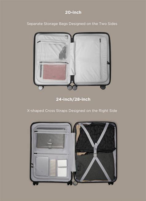 New Baru Koper Xiaomi Original Suitccase Luggage 24 Inchi Inch Tas T original xiaomi 90fun 20inch 24 inch travel luggage 100 pc suitcase spinner wheel carry on