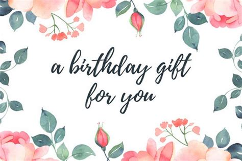 gift card birthday template gift certificate templates canva