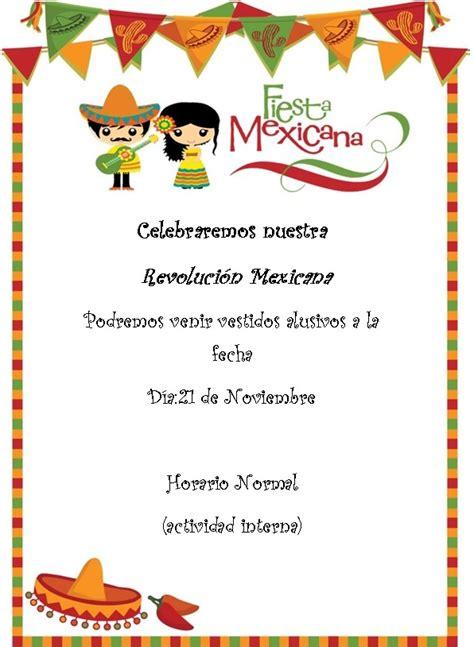 Imagenes De La Revolucion Mexicana Para Invitaciones | invitacion revolucion mexicana colegio rehilete de la