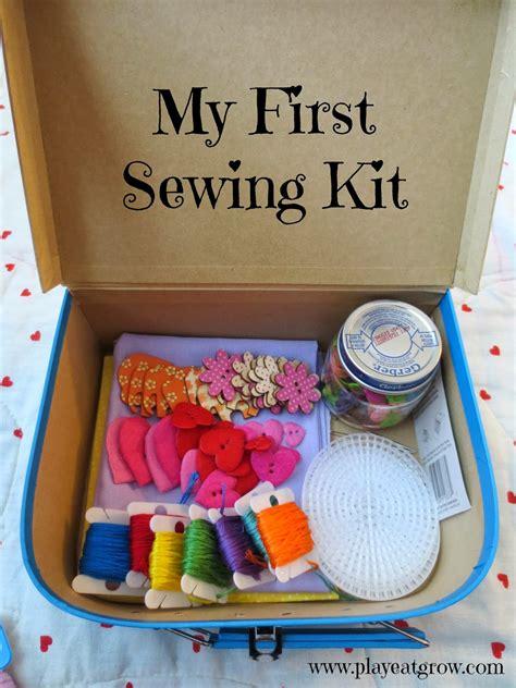 diy craft kits for diy sewing kit play eat grow