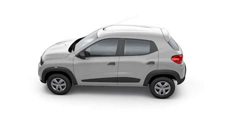 renault kwid silver colour renault kwid standard available colors